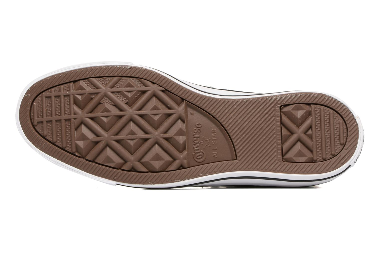 Sneaker Converse Chuck Taylor All Star Hi Metallics W grün ansicht von oben