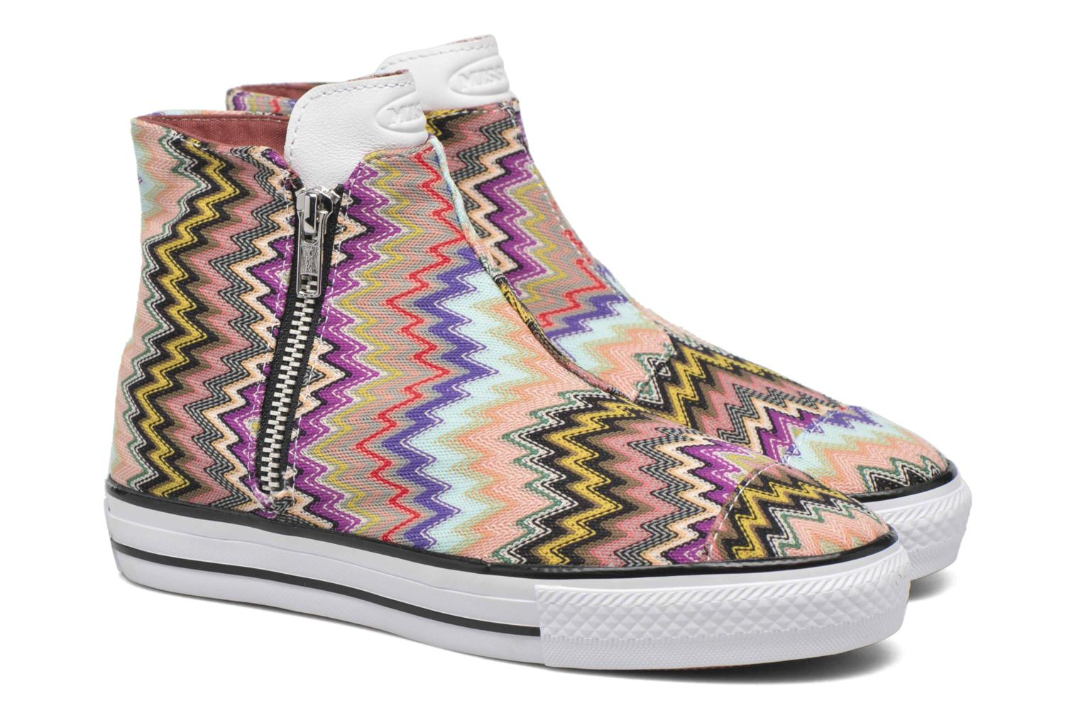Trainers Converse Ctas High Line Mid W Multicolor 3/4 view