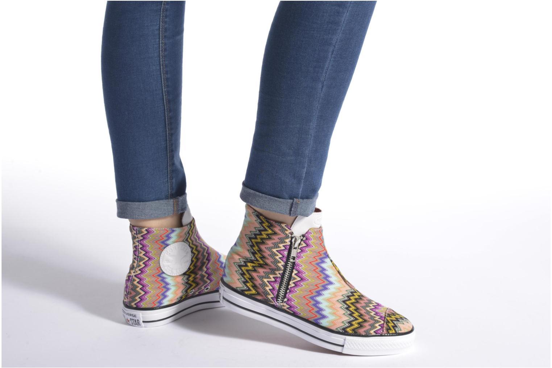 Sneaker Converse Ctas High Line Mid W mehrfarbig ansicht von unten / tasche getragen