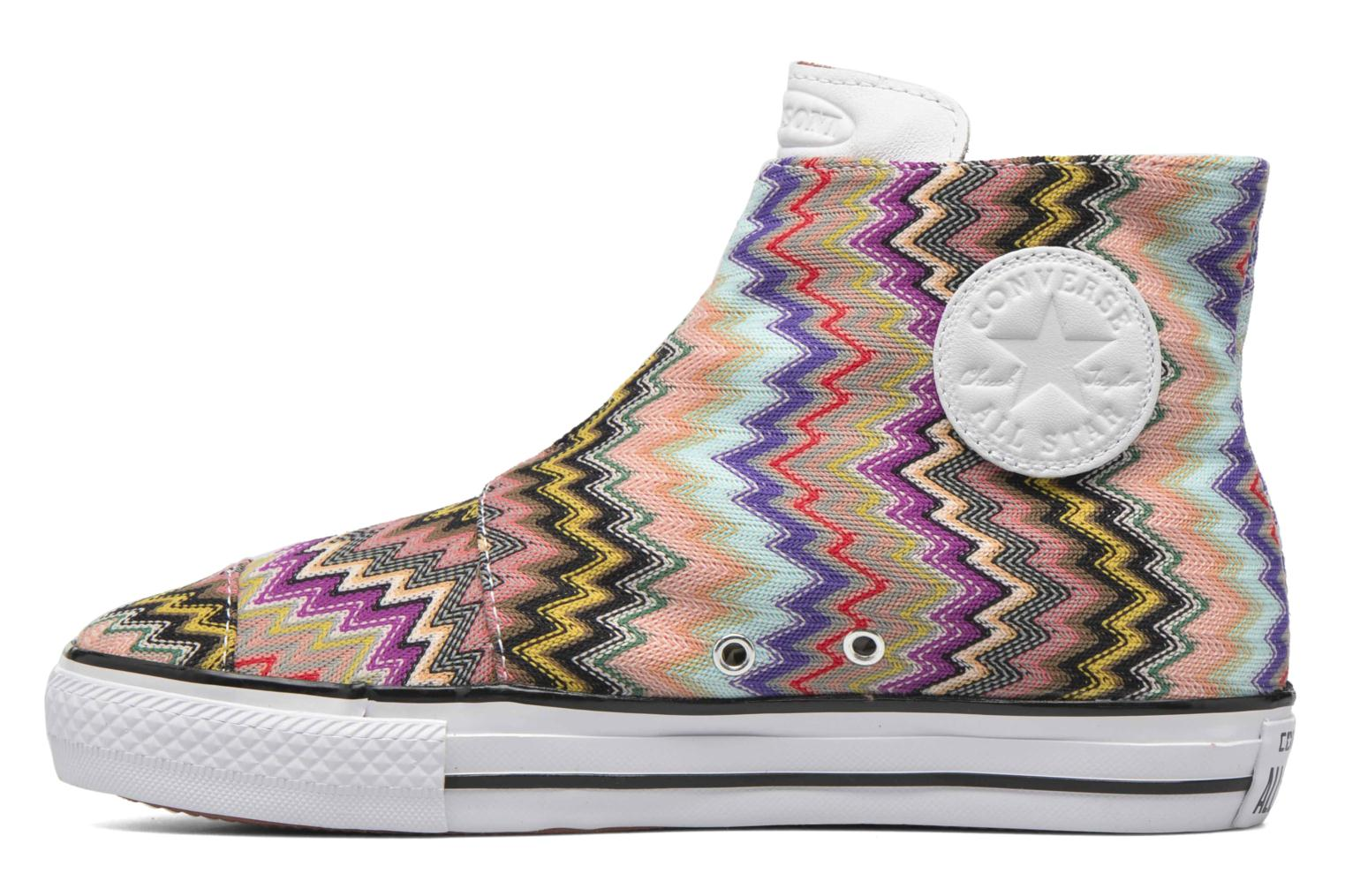 Trainers Converse Ctas High Line Mid W Multicolor front view
