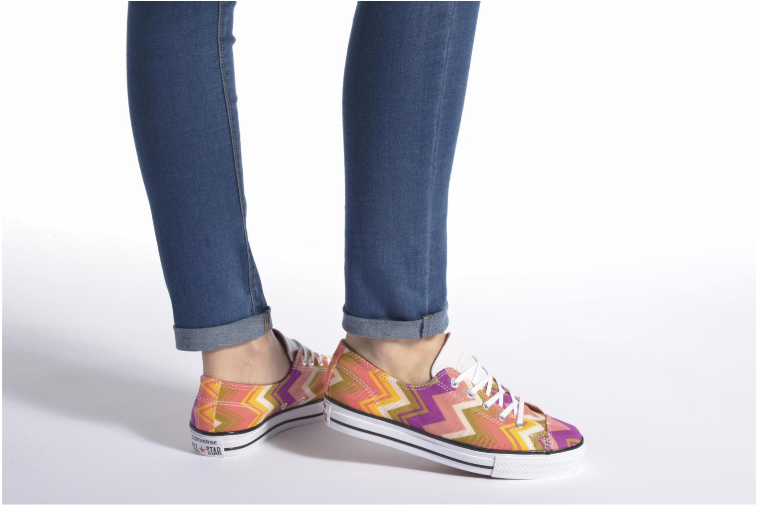 Trainers Converse Ctas High Line Ox W Multicolor view from underneath / model view