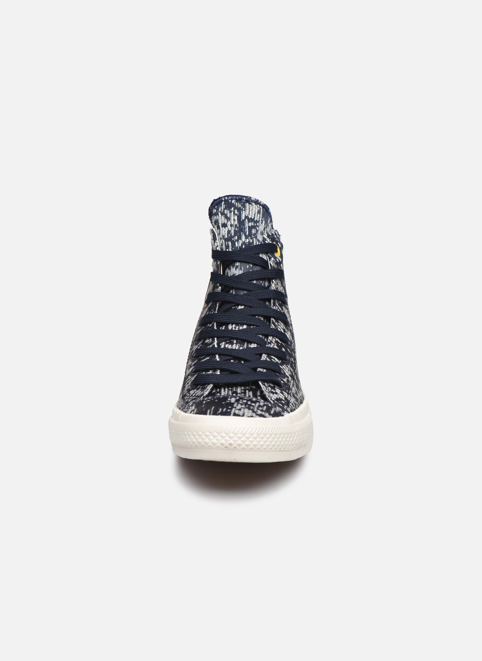 Baskets Converse Chuck Taylor All Star II Rubber Hi M Gris vue portées chaussures