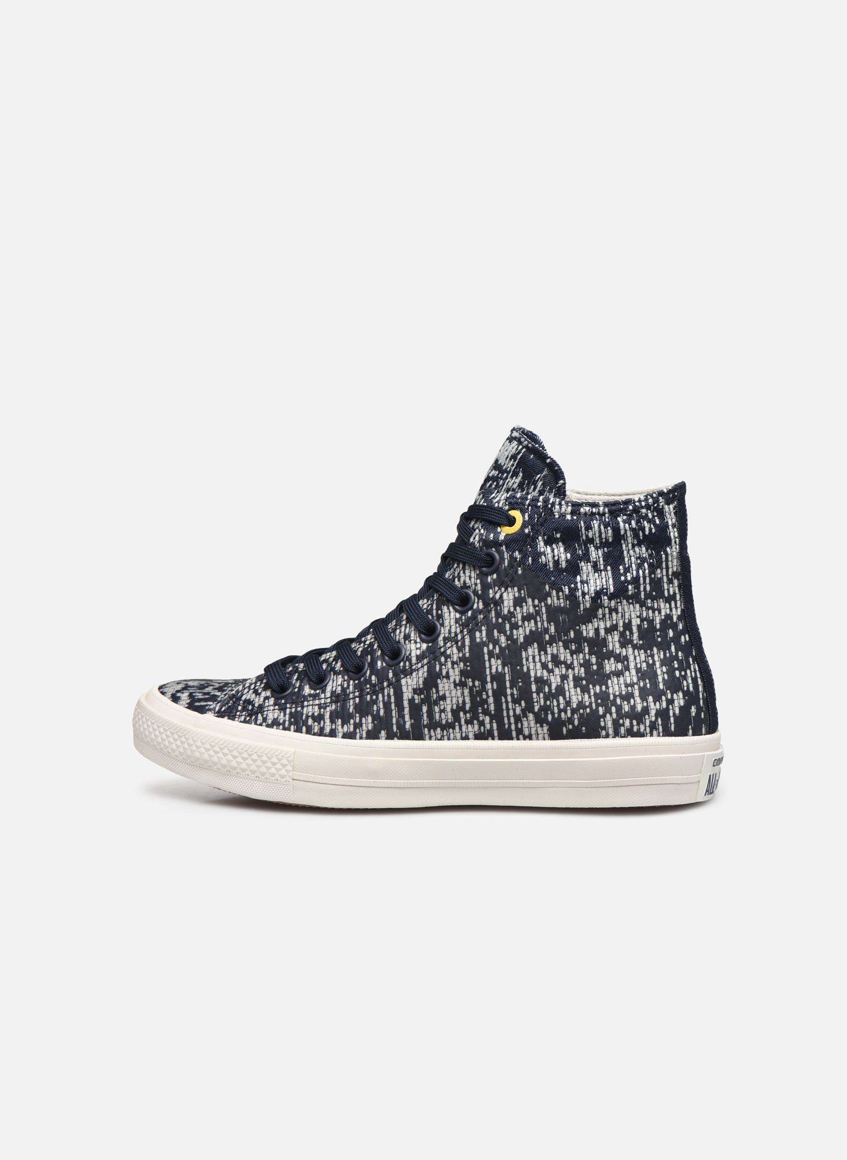 Sneaker Converse Chuck Taylor All Star II Rubber Hi M grau ansicht von vorne