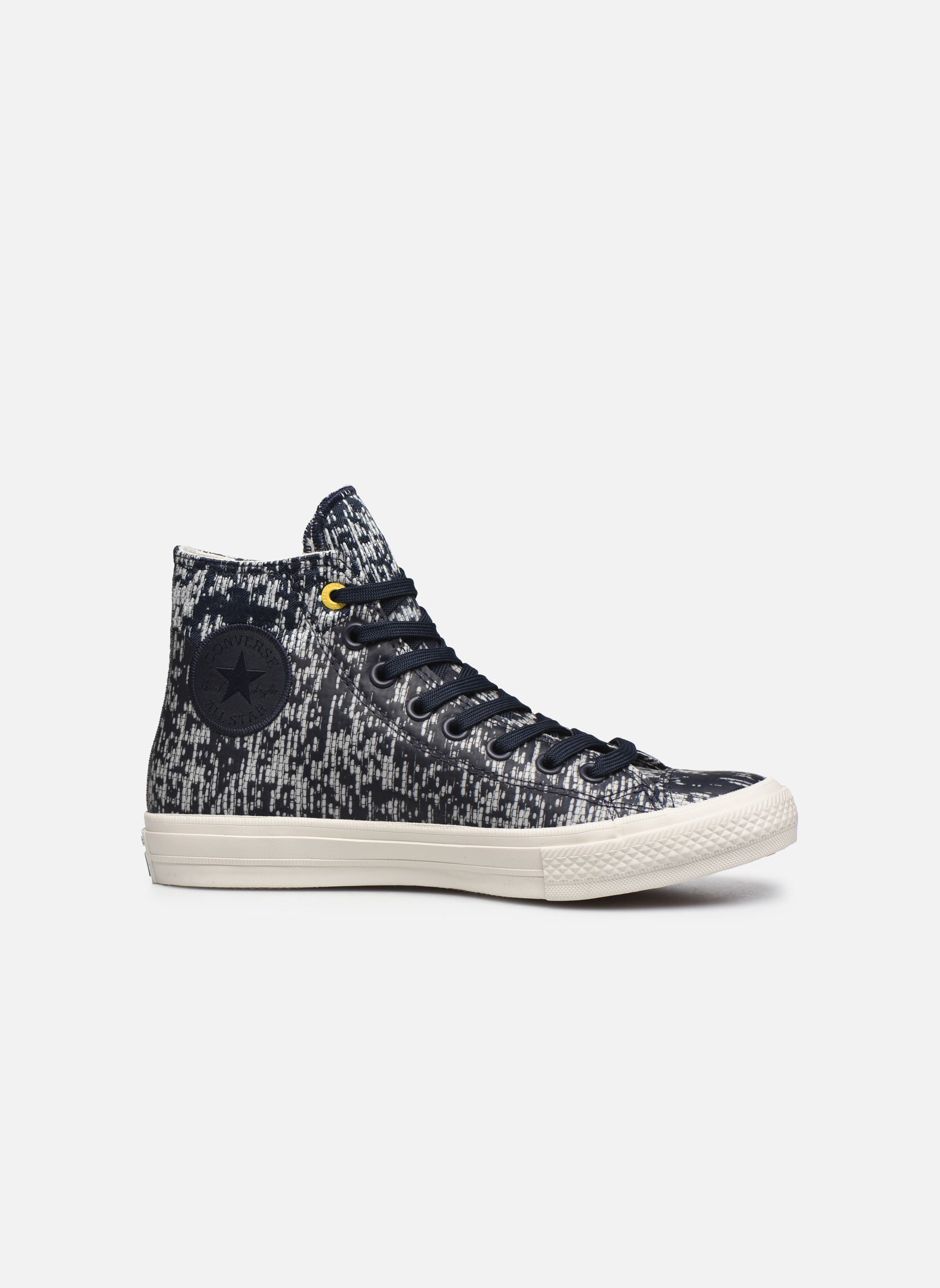 Sneaker Converse Chuck Taylor All Star II Rubber Hi M grau ansicht von hinten