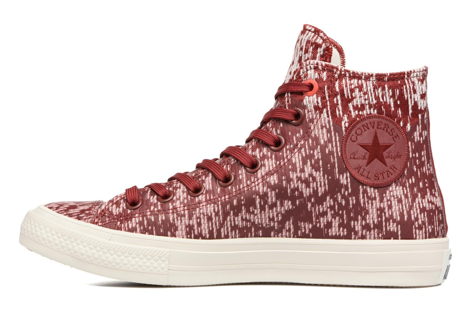 Baskets Converse Chuck Taylor All Star II Rubber Hi M Rouge vue face