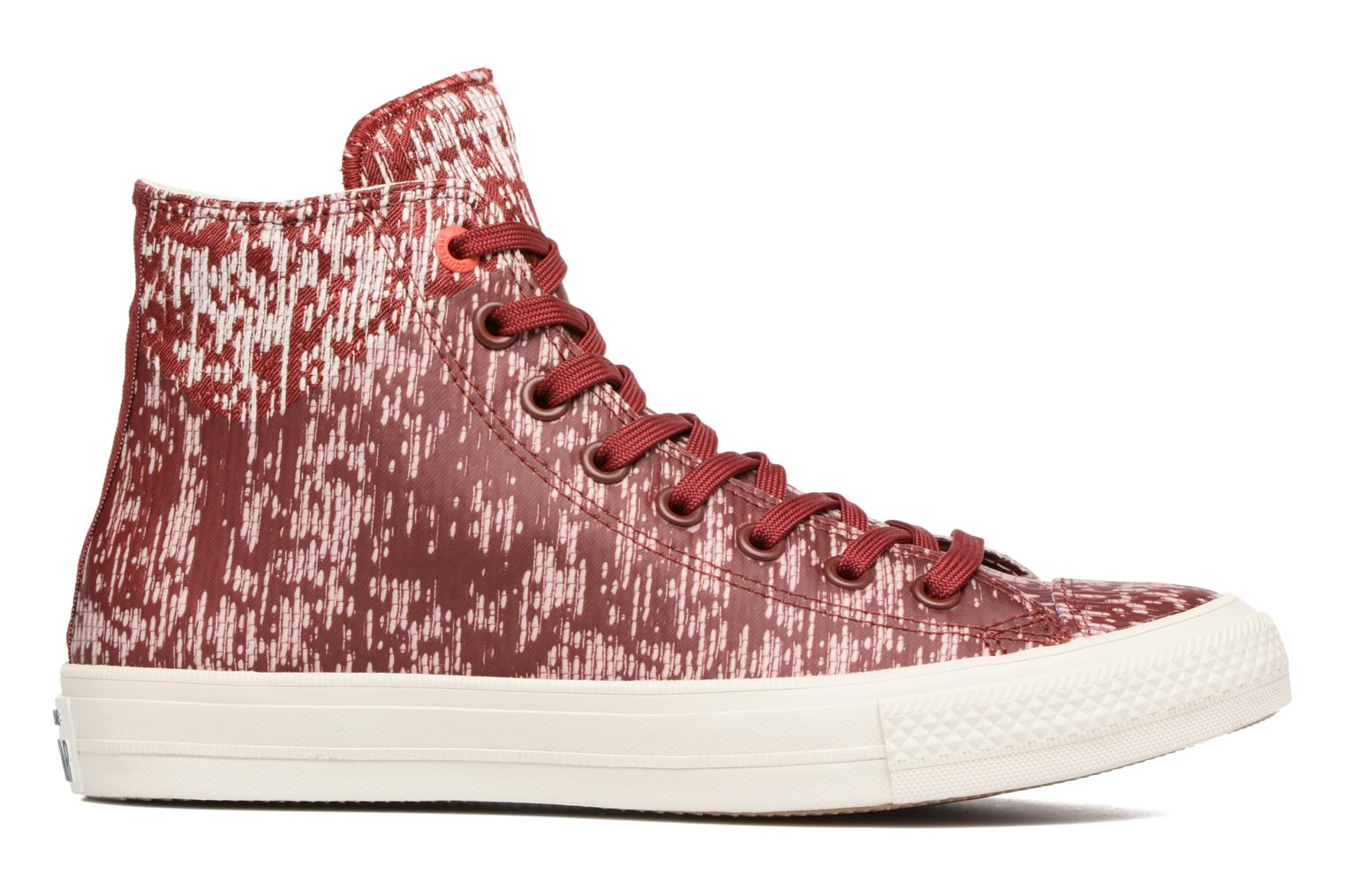 Baskets Converse Chuck Taylor All Star II Rubber Hi M Rouge vue derrière