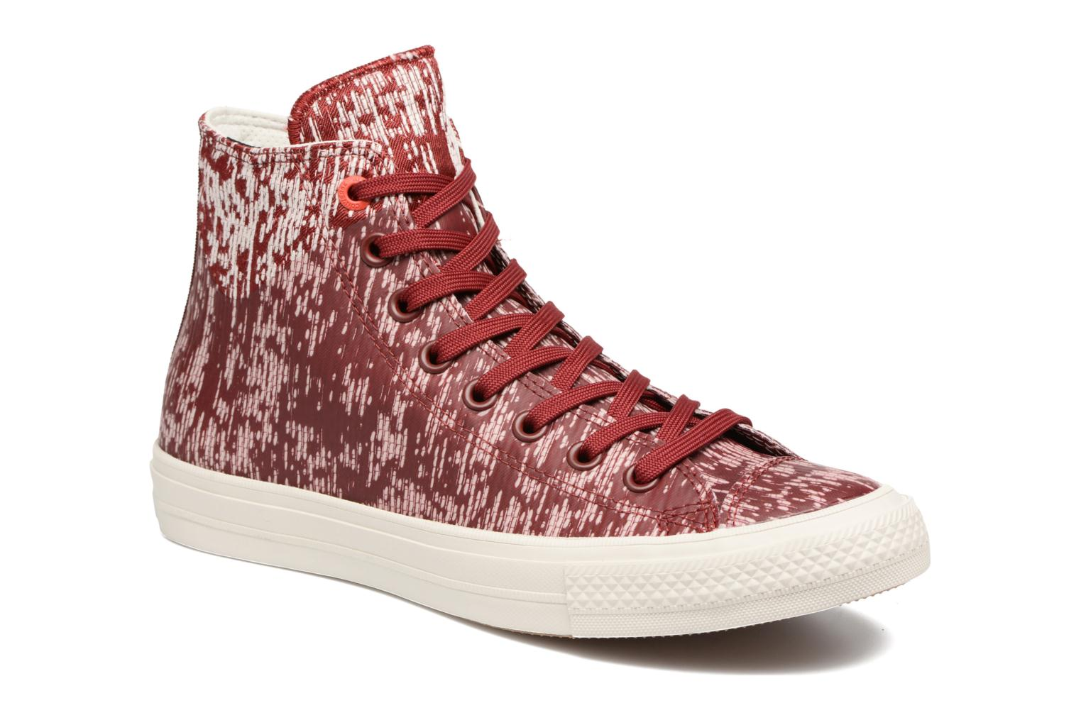 Baskets Converse Chuck Taylor All Star II Rubber Hi M Rouge vue détail/paire