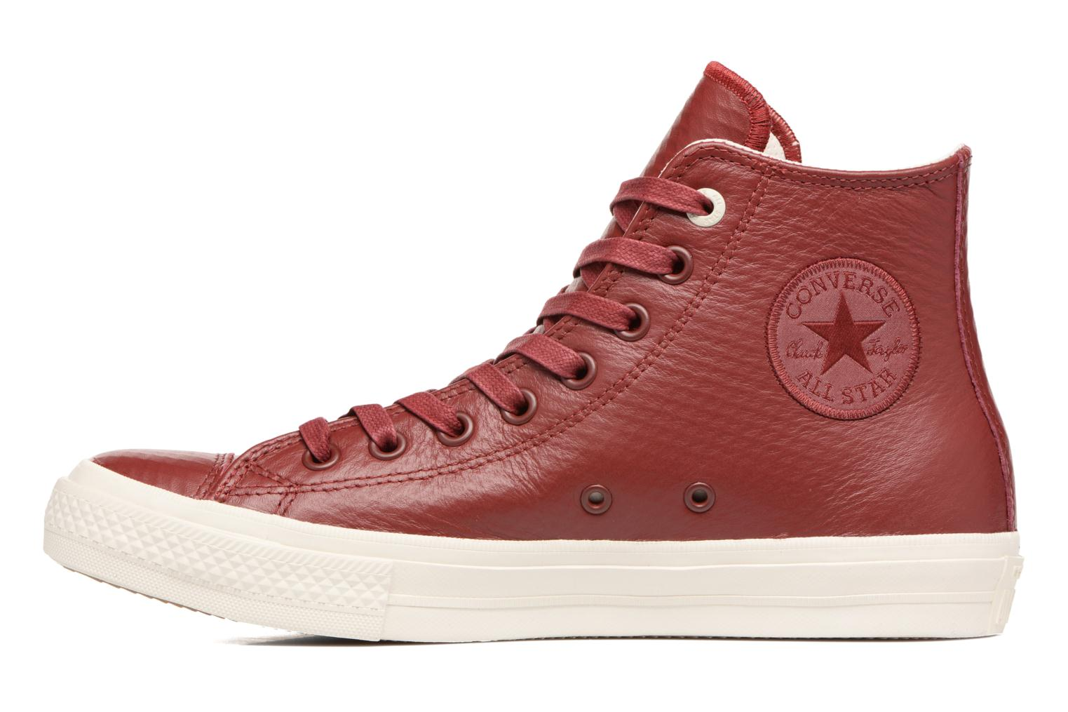 Baskets Converse Chuck Taylor All Star II Mesh-Backed Leather Hi M Bordeaux vue face