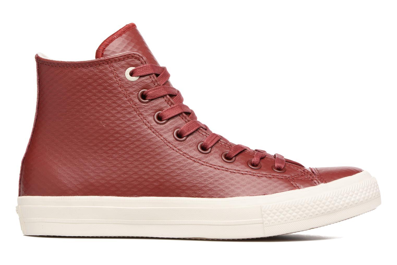 Baskets Converse Chuck Taylor All Star II Mesh-Backed Leather Hi M Bordeaux vue derrière