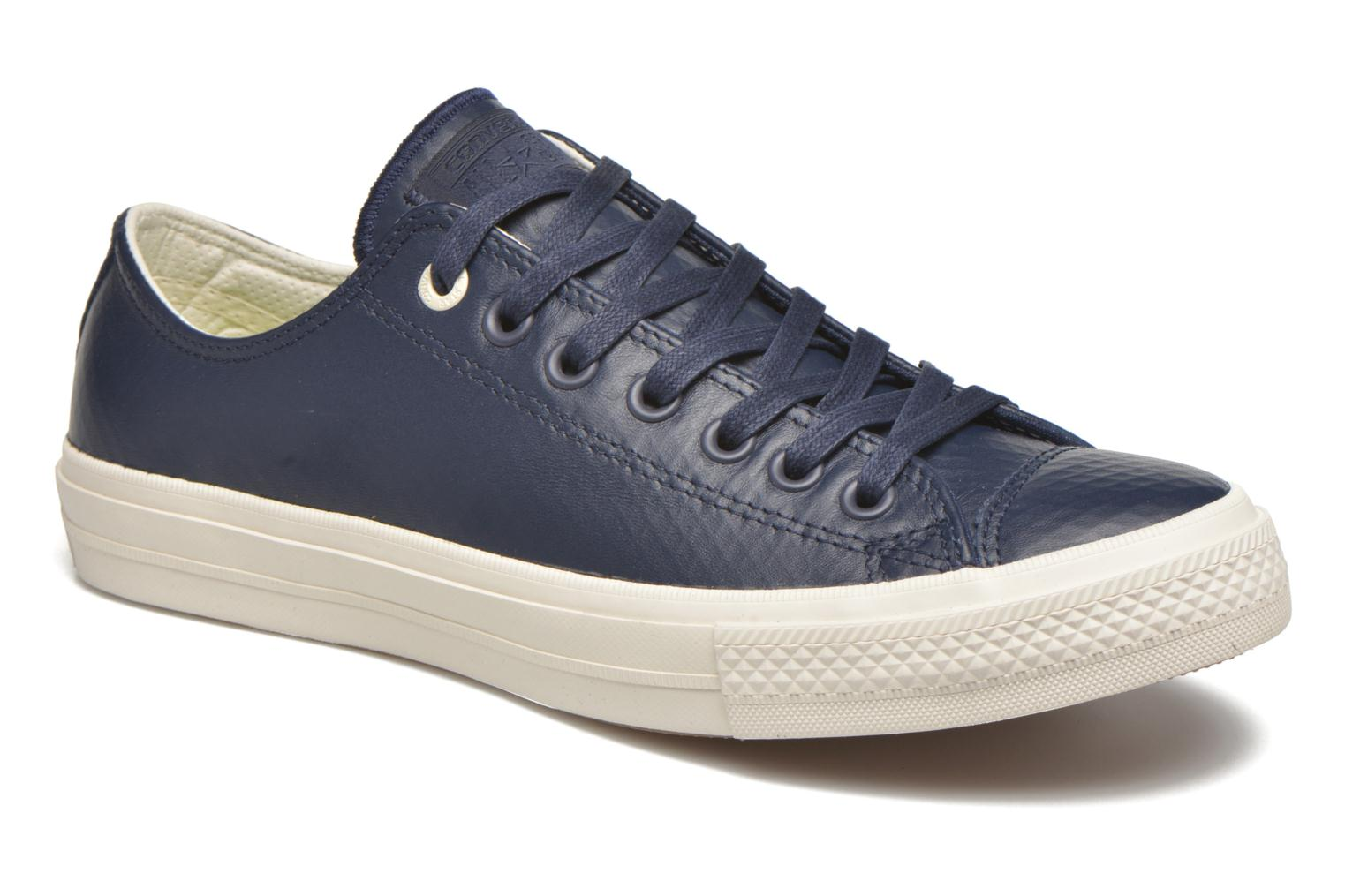 Trainers Converse Chuck Taylor All Star II Mesh-Backed Leather Ox M Blue  detailed view