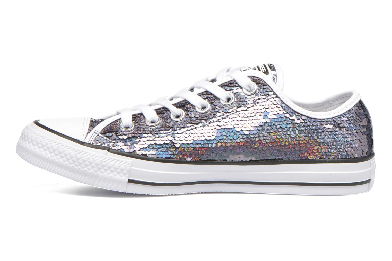 Sneakers Converse Chuck Taylor All Star Iridescent Sequin Ox W Grigio immagine frontale