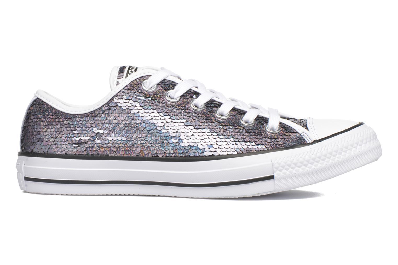 Sneaker Converse Chuck Taylor All Star Iridescent Sequin Ox W grau ansicht von hinten