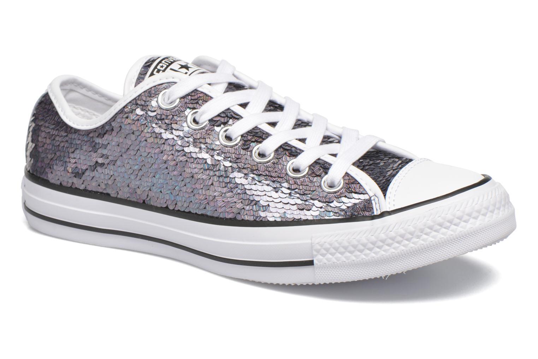 Sneaker Converse Chuck Taylor All Star Iridescent Sequin Ox W grau detaillierte ansicht/modell