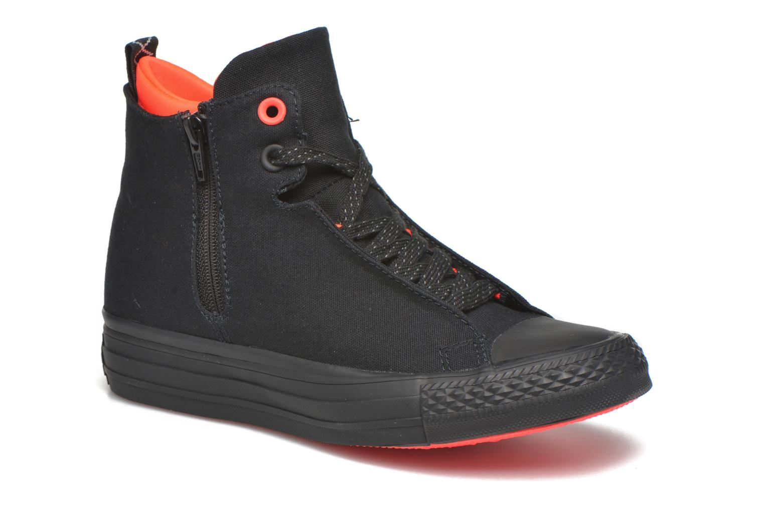 Baskets Converse Ctas Selene Shield Canvas Mid Noir vue détail/paire
