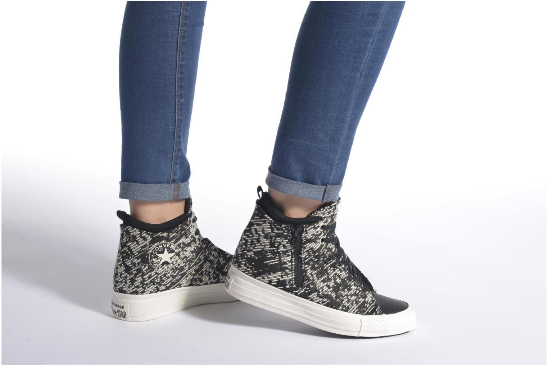 Sneakers Converse Ctas Selene Winter Knit Mid Bianco immagine dal basso