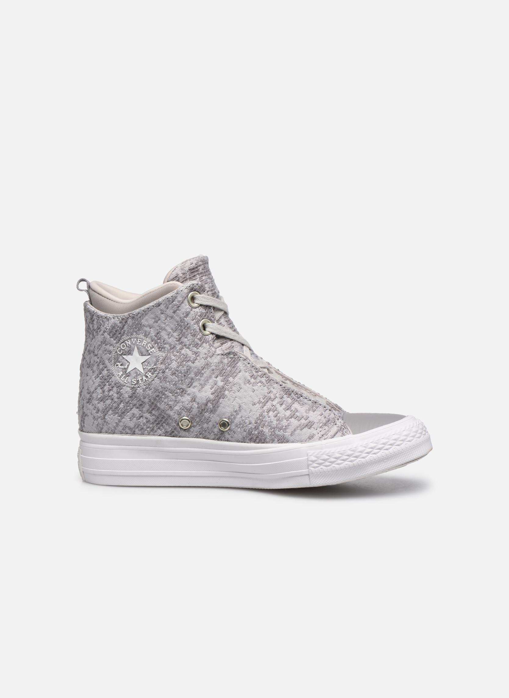 Sneakers Converse Ctas Selene Winter Knit Mid Bianco immagine posteriore