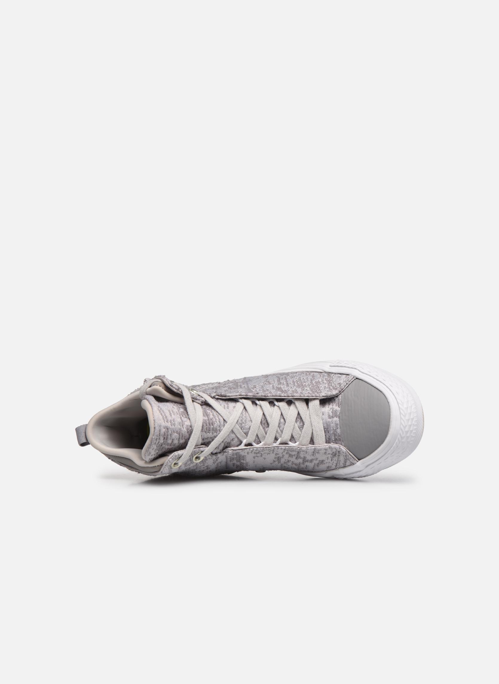 Baskets Converse Ctas Selene Winter Knit Mid Blanc vue gauche