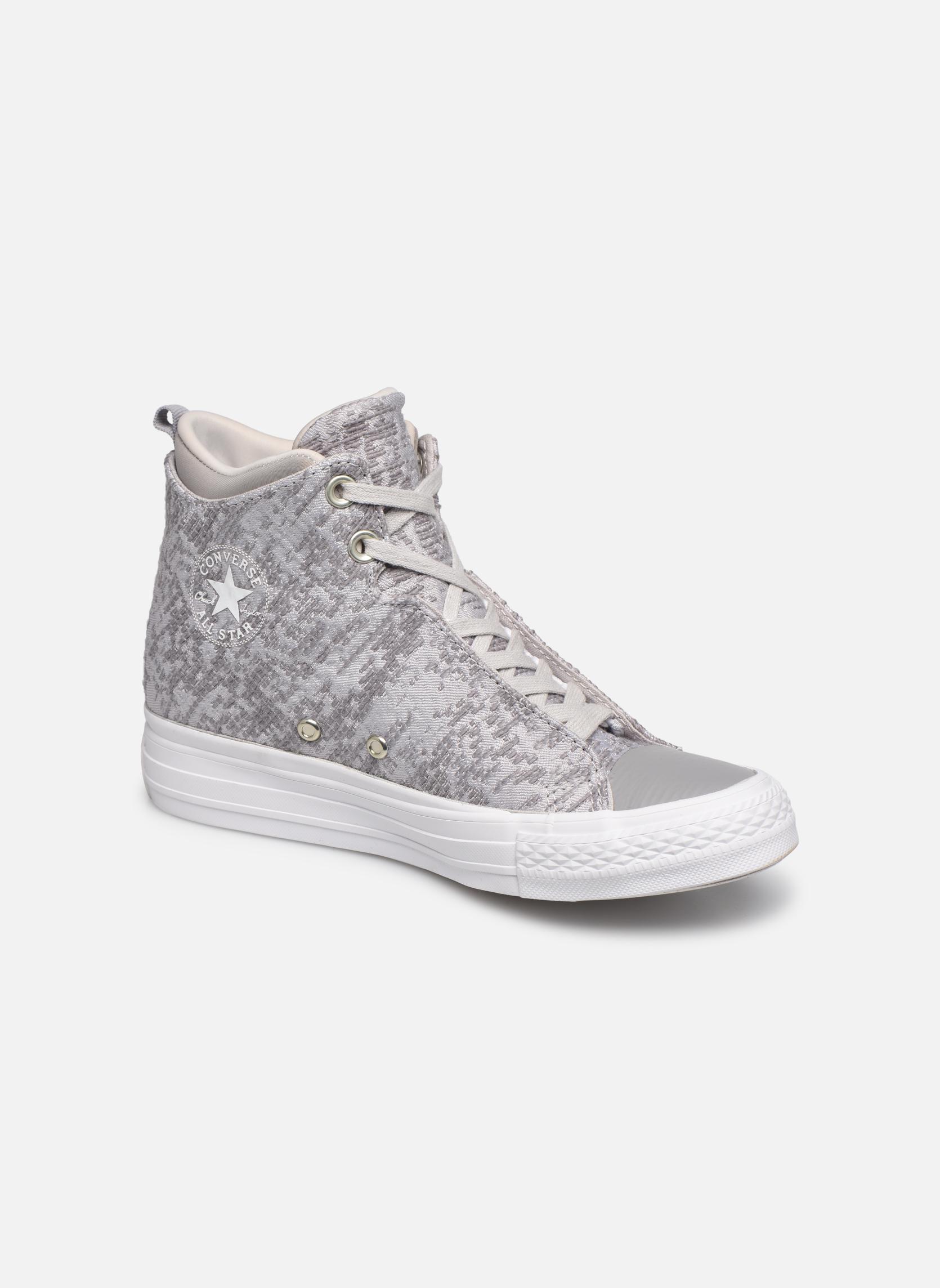 Sneakers Converse Ctas Selene Winter Knit Mid Bianco vedi dettaglio/paio