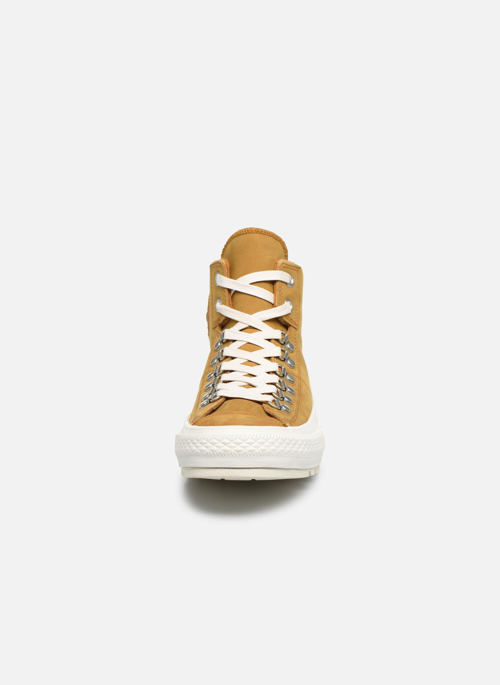Sneaker Converse Ctas Street Hiker Hi braun schuhe getragen