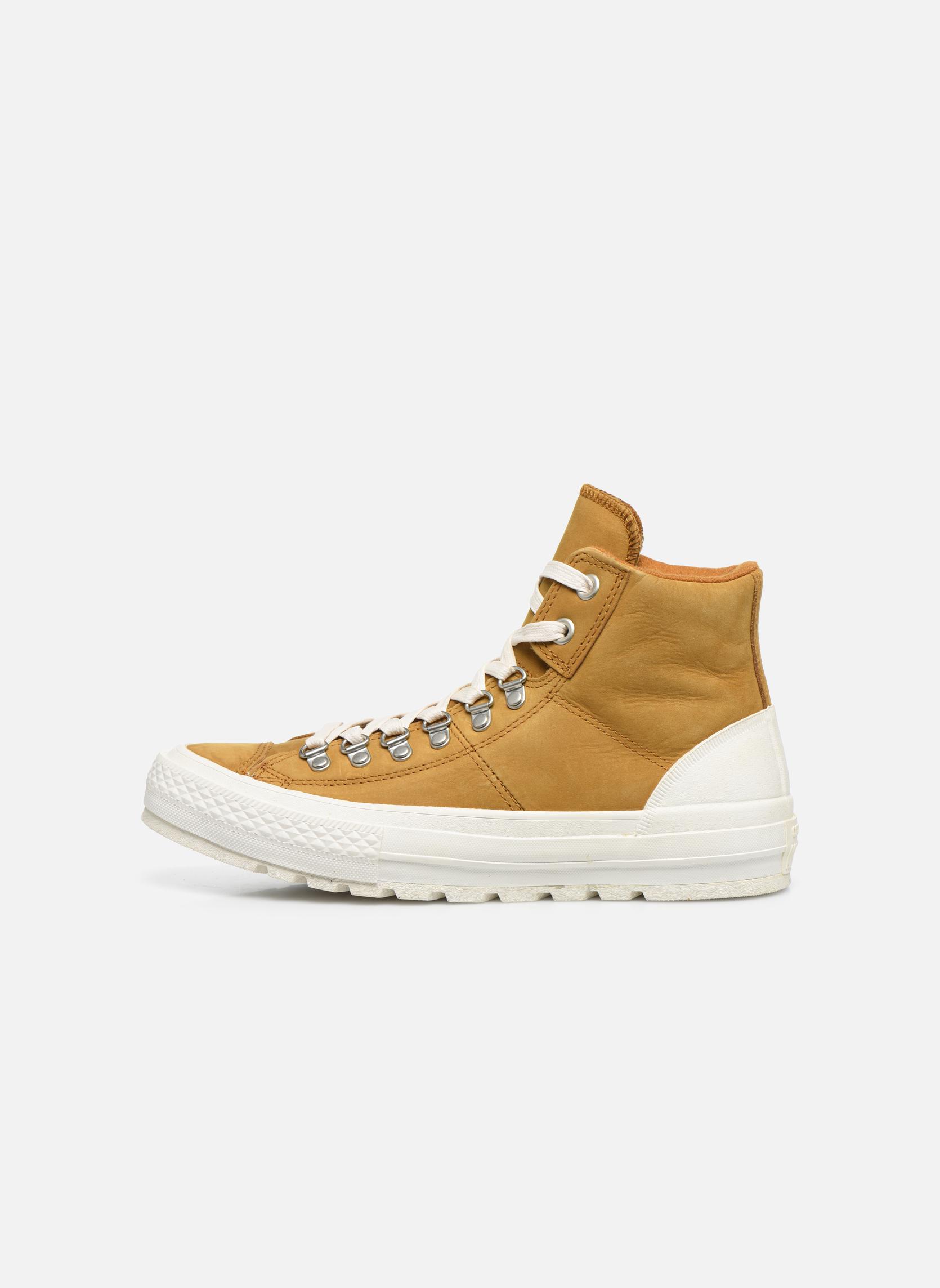 Sneaker Converse Ctas Street Hiker Hi braun ansicht von vorne