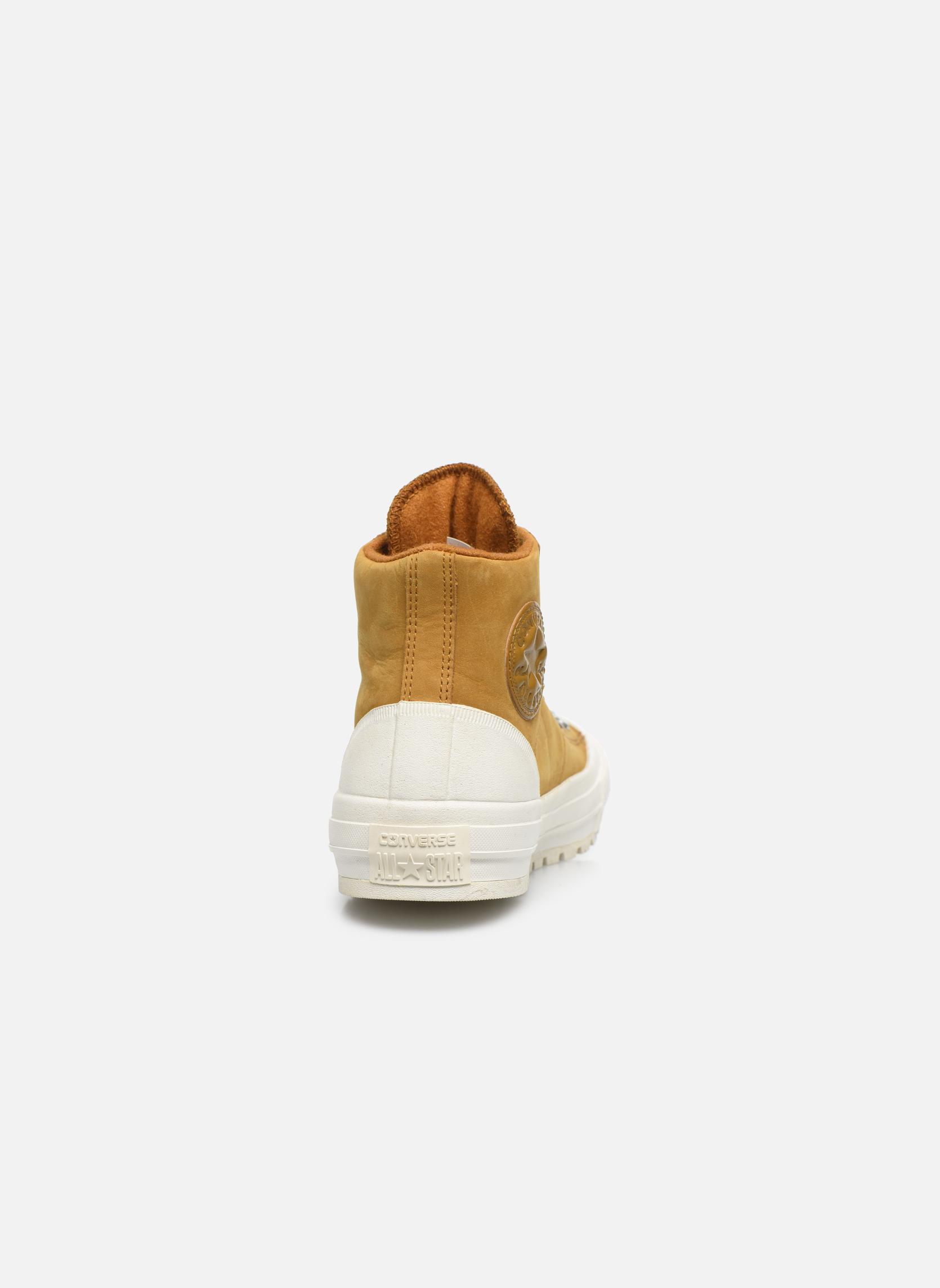 Sneaker Converse Ctas Street Hiker Hi braun ansicht von rechts
