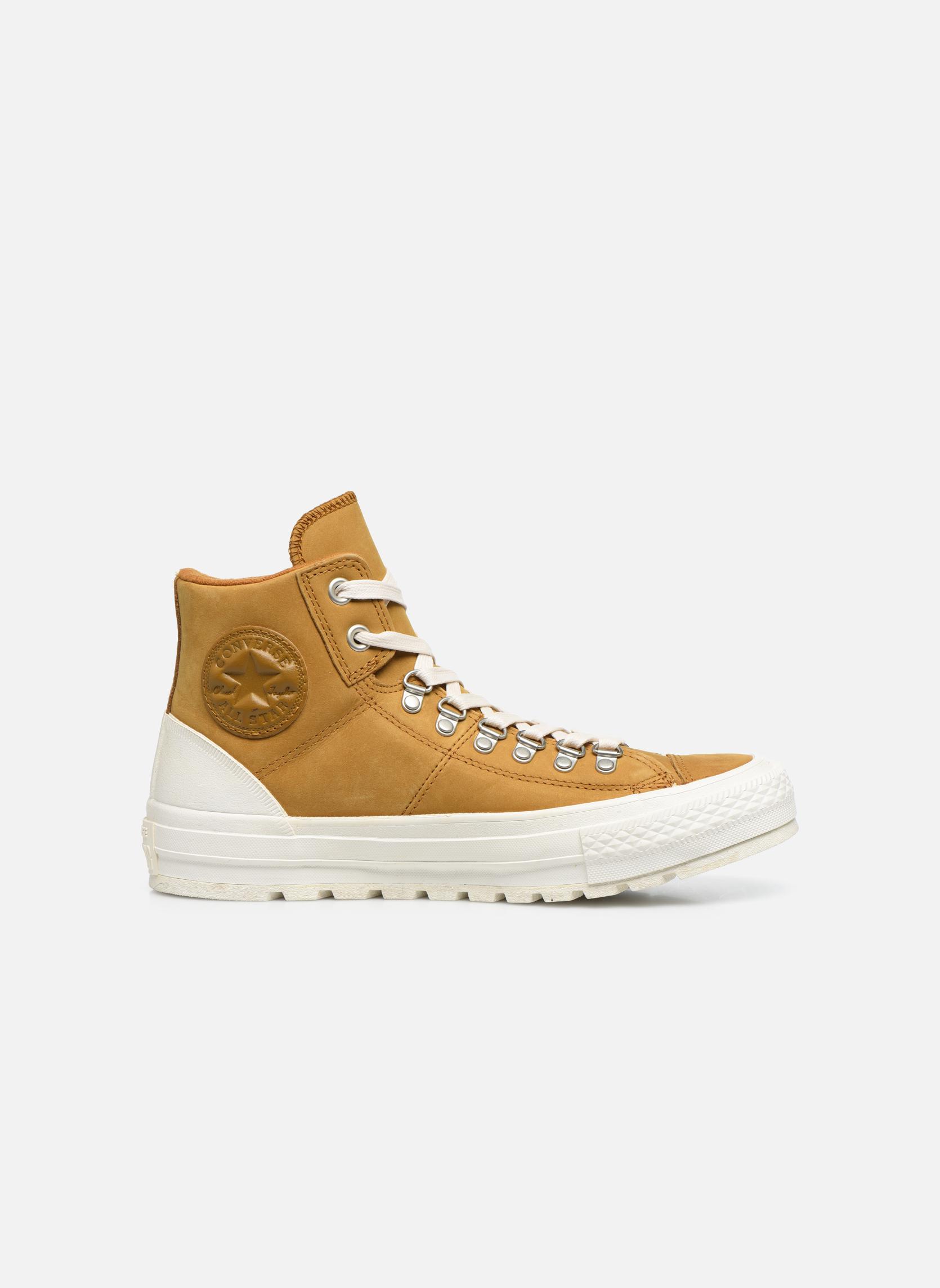 Sneaker Converse Ctas Street Hiker Hi braun ansicht von hinten