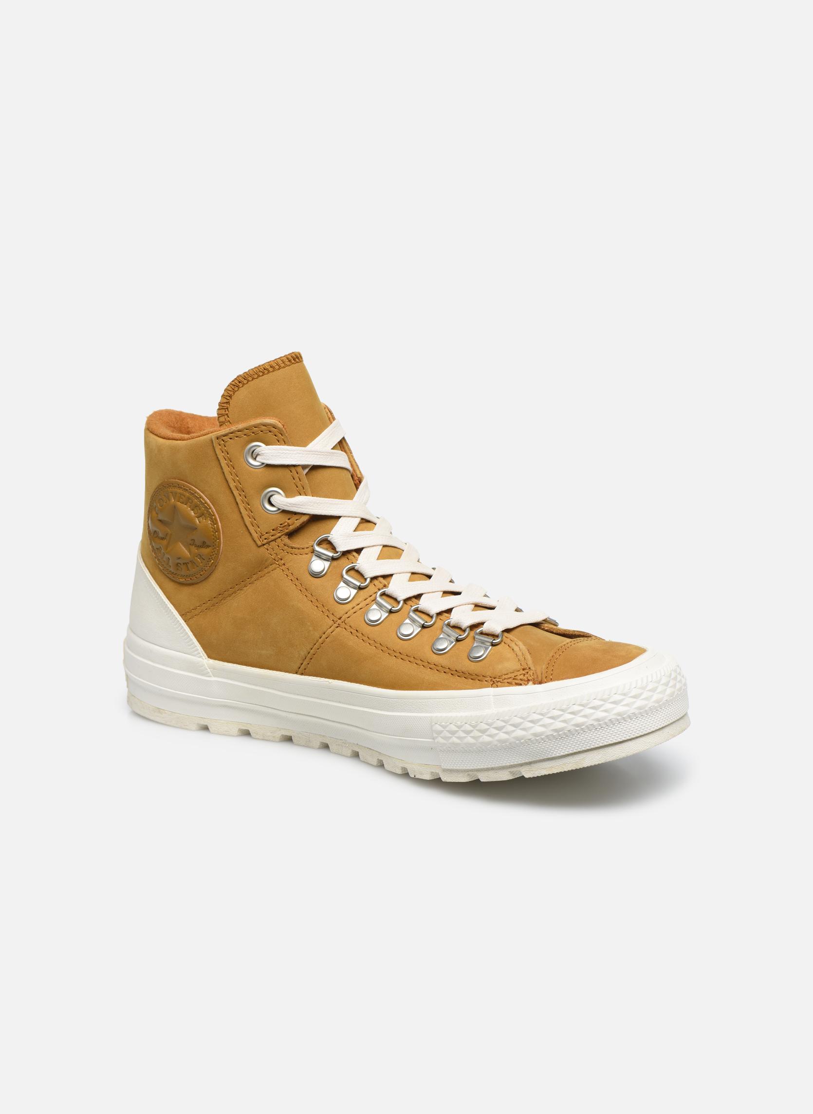 Uomo Converse Ctas Street Hiker Hi Sneakers Marrone