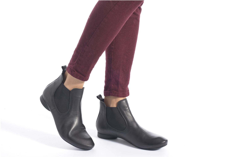 Bottines et boots Think! Guad 83293 Noir vue bas / vue portée sac
