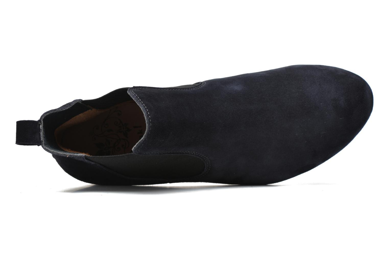 Stiefeletten & Boots Think! Guad 80295 blau ansicht von links