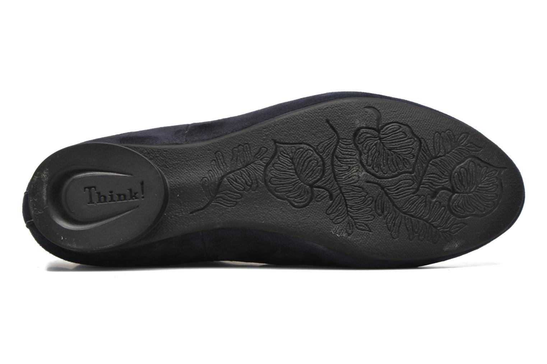 Stiefeletten & Boots Think! Guad 80295 blau ansicht von oben