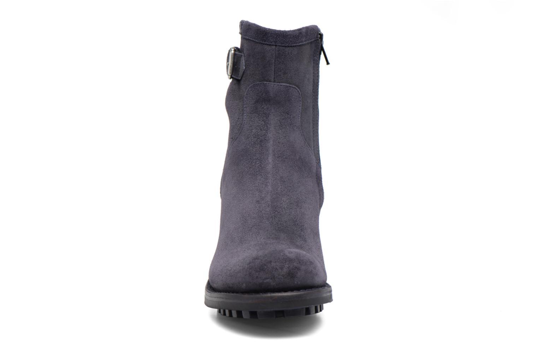 Bottines et boots Free Lance Biker 7 small gero Bleu vue portées chaussures