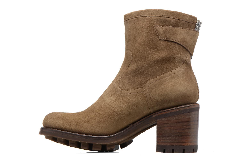 Bottines et boots Free Lance Justy 7 little cavalière Beige vue face