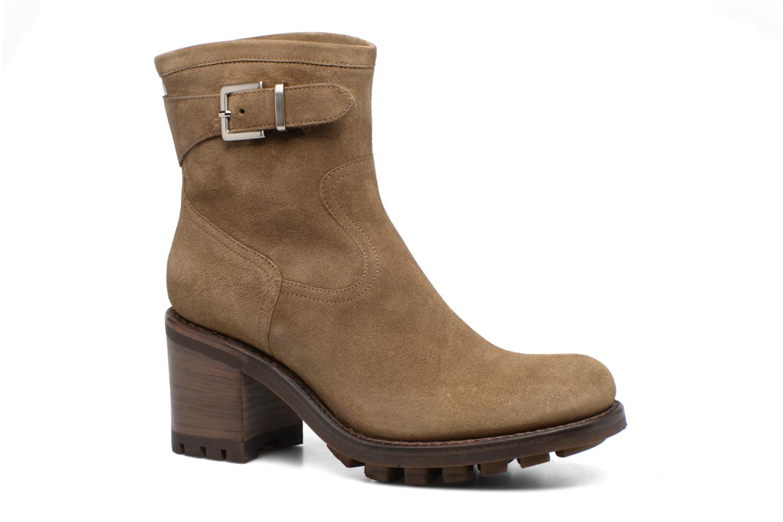 Bottines et boots Free Lance Justy 7 little cavalière Beige vue détail/paire