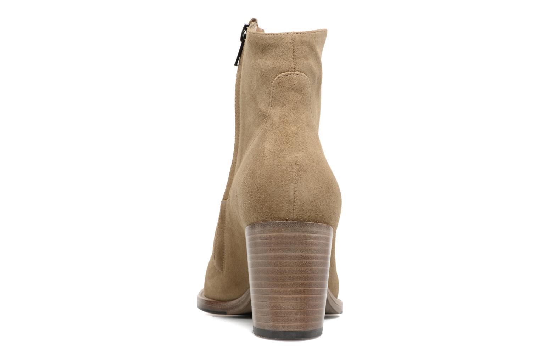 Bottines et boots Free Lance Legend 7 Zip Boot Beige vue droite