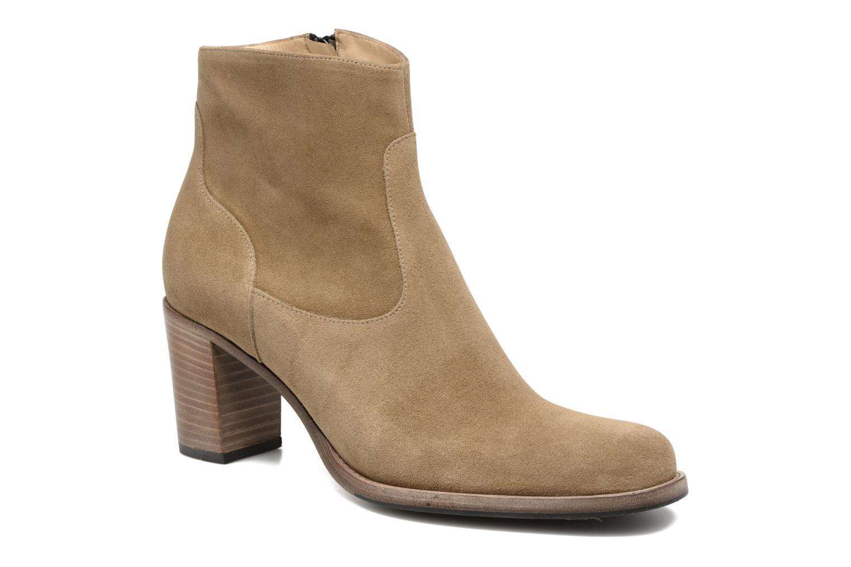 Bottines et boots Free Lance Legend 7 Zip Boot Beige vue détail/paire