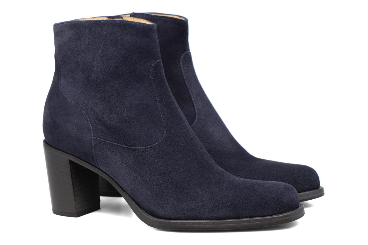 Bottines et boots Free Lance Legend 7 Zip Boot Bleu vue 3/4