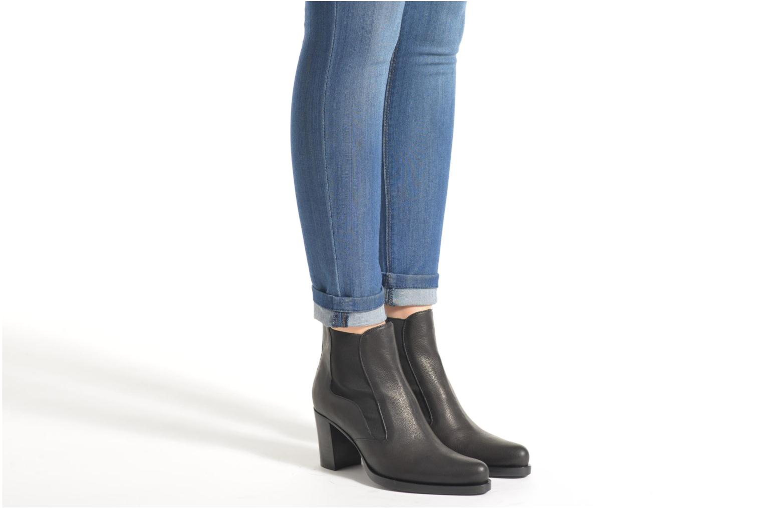 Ankle boots Free Lance Paddy 7 jodpur Black view from underneath / model view