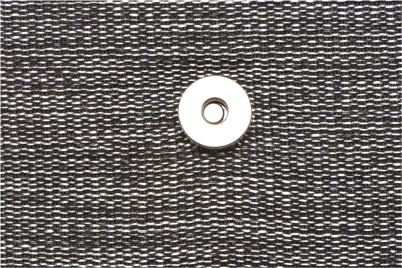 Bolsos de mano Mellow Yellow AMELINE Porté travers cuir et textile Negro vista lateral izquierda