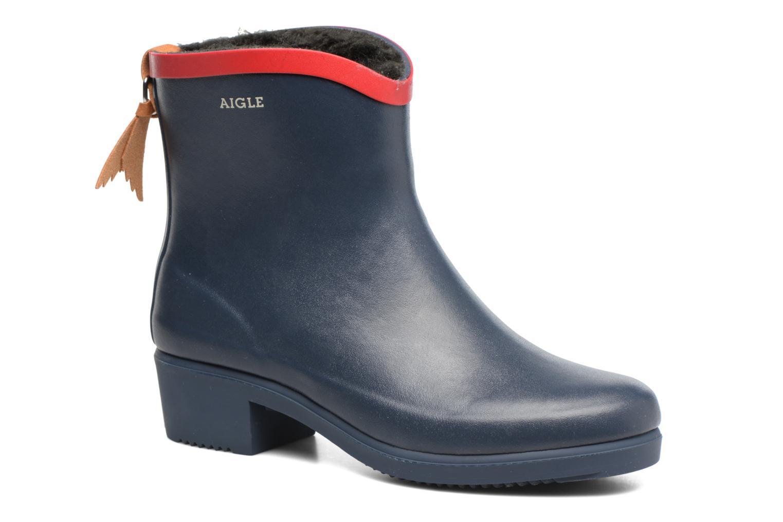 Cómodo y bien parecido Aigle Miss Juliette Botillon Fur (Azul) - Botines  en Más cómodo
