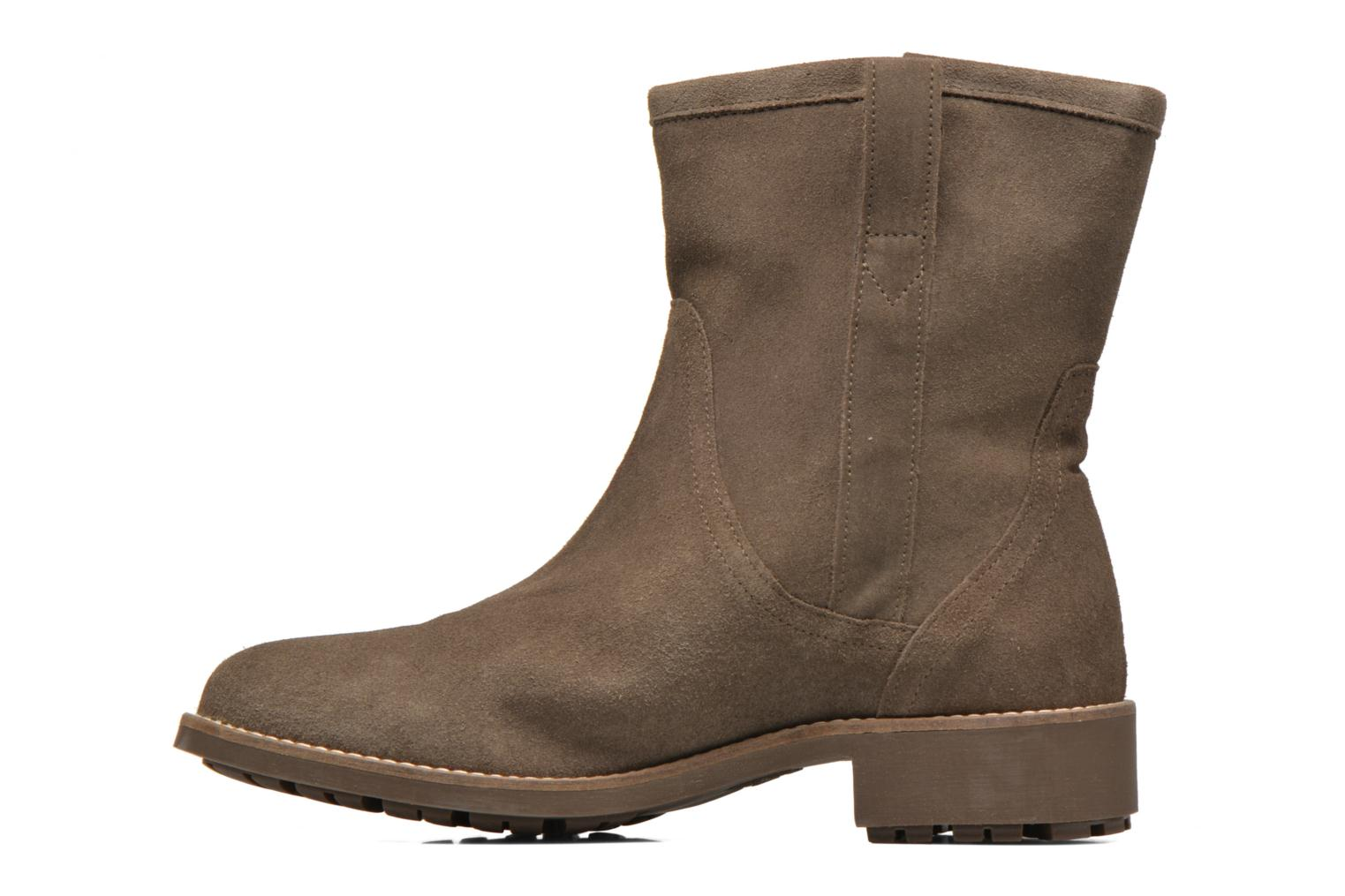 Ankle boots Aigle Chanteside Low Brown front view