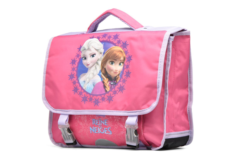Bandoleras y Colegio Disney Cartable 38cm Reine des neiges 2 Rosa vista del modelo