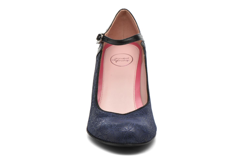 Escarpins Annabel Winship Soundgarden Bleu vue portées chaussures