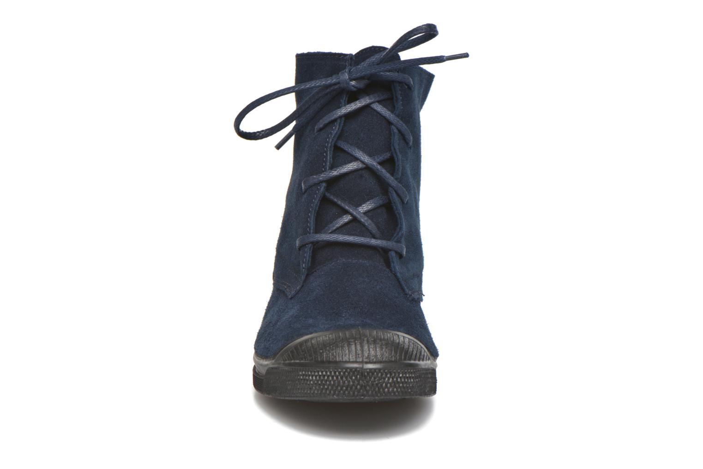Baskets Bensimon Boots Dakota Bleu vue portées chaussures