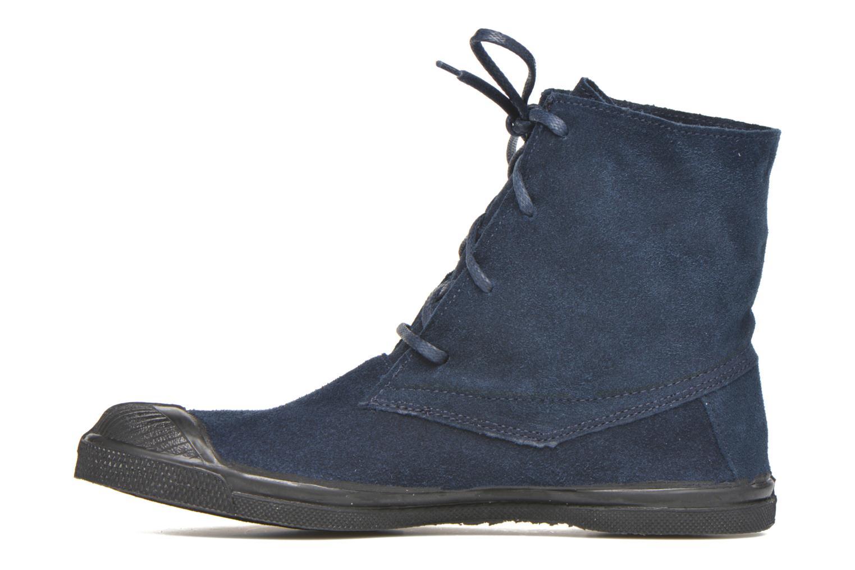 Sneaker Bensimon Boots Dakota blau ansicht von vorne