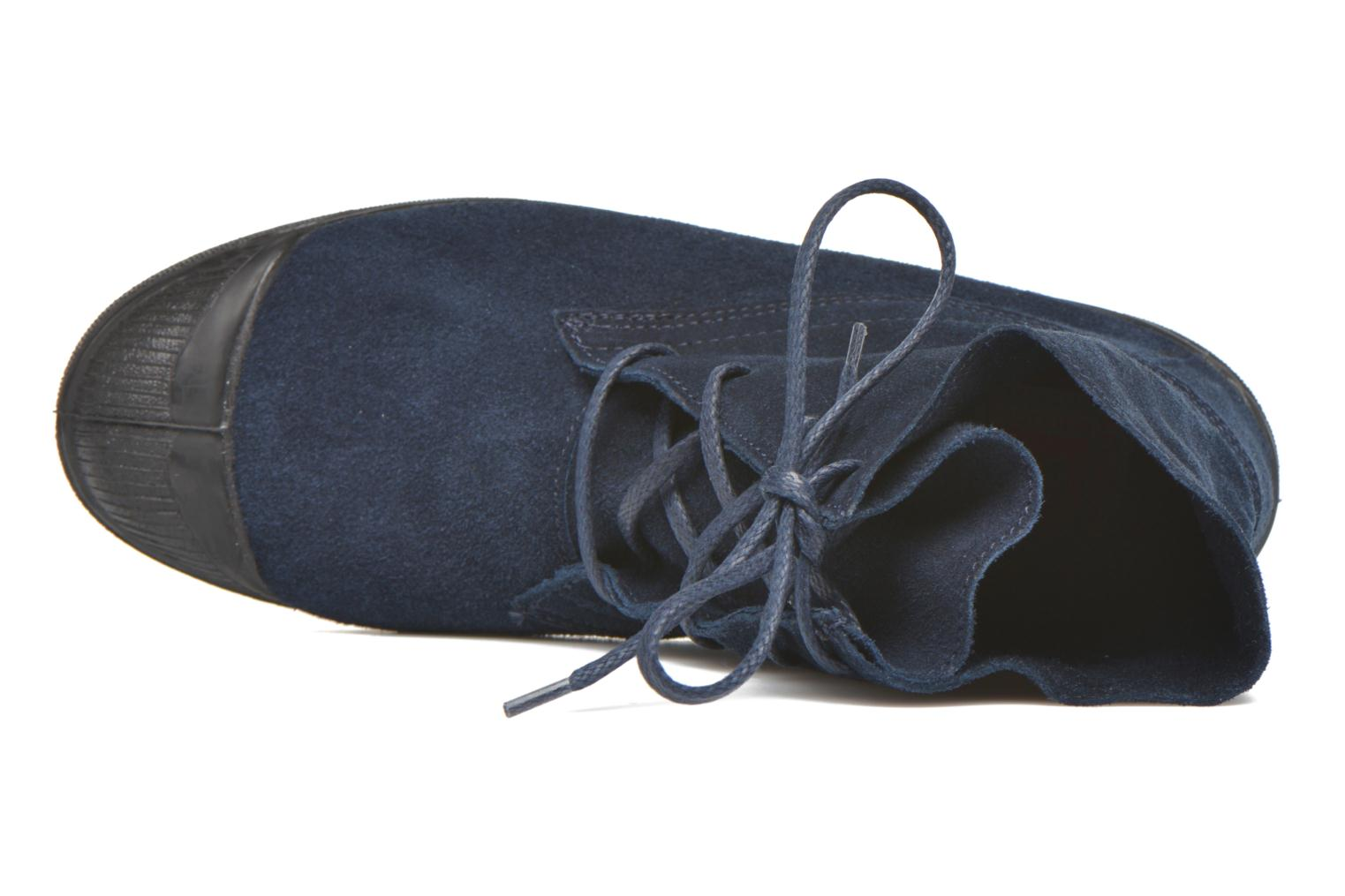 Trainers Bensimon Boots Dakota Blue view from the left