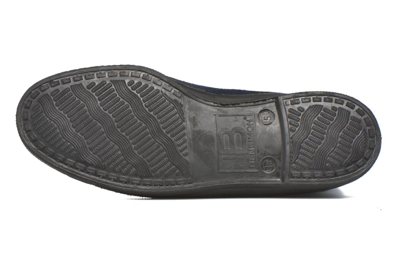Baskets Bensimon Boots Dakota Bleu vue haut