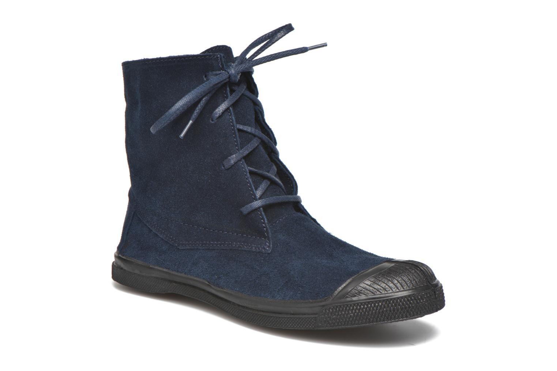 Trainers Bensimon Boots Dakota Blue detailed view/ Pair view