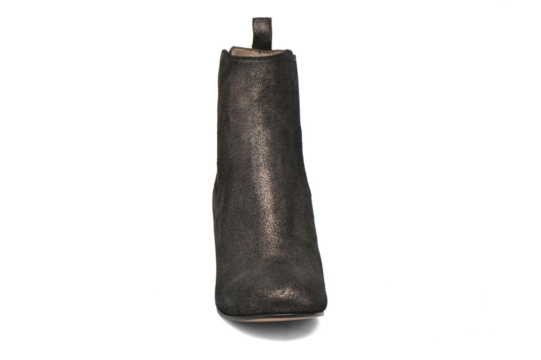 Botines  Bensimon Boots talon élastique Plateado vista del modelo
