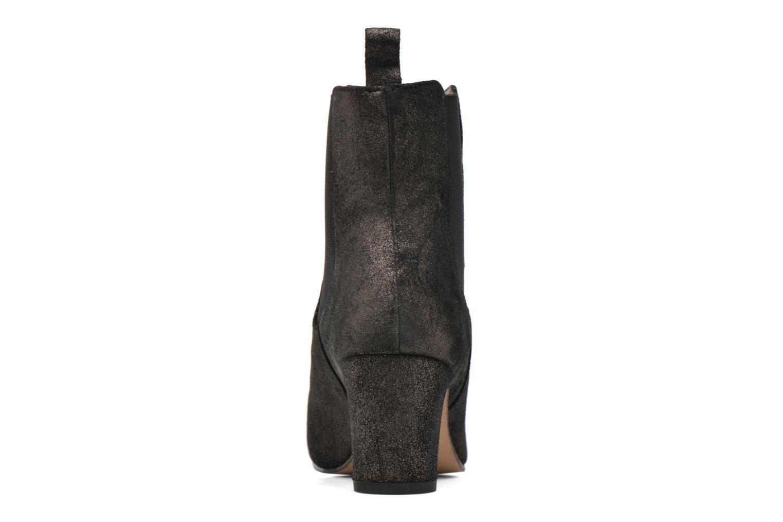 Bottines et boots Bensimon Boots talon élastique Argent vue droite