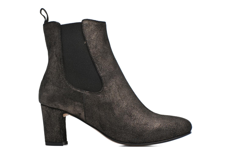 Ankle boots Bensimon Boots talon élastique Silver back view